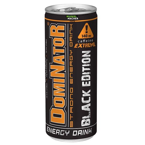 Olimp Dominator Strong Energy Drink Black Edition
