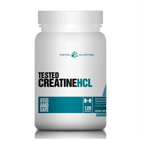 Tested Creatine HCl (120 Kapseln)