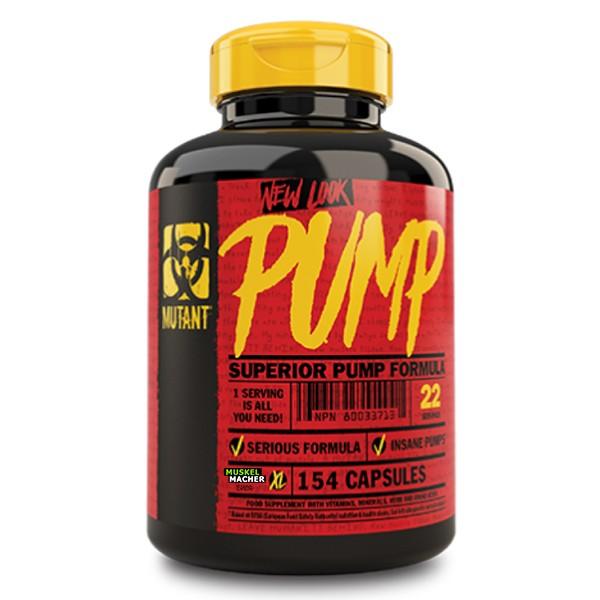 Mutant Pump (154 Kapseln)