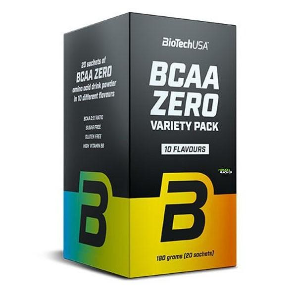 BioTech USA BCAA Zero Variety 20er Pack