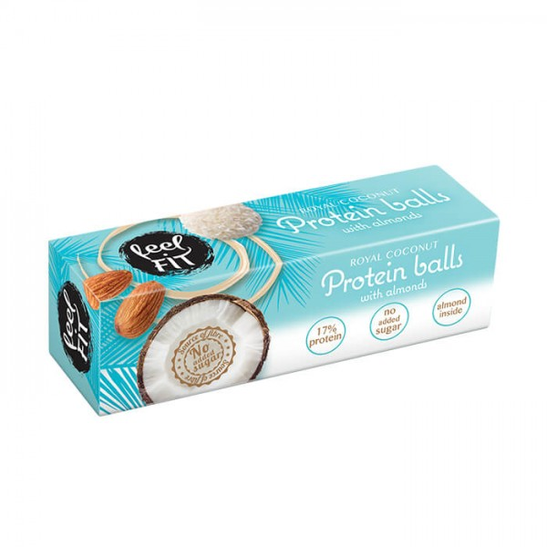 Feel Fit Protein Coconut Balls MHD 12/19