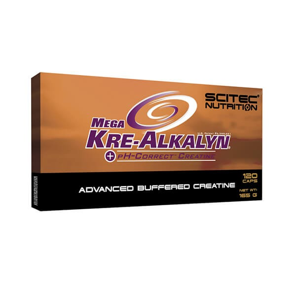 Scitec Nutrition Mega Kre-Alkalyn (120 Kapseln)
