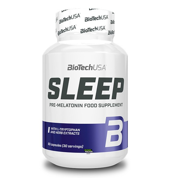 BioTech USA Sleep Pre-Melatonin (60 Kapseln)