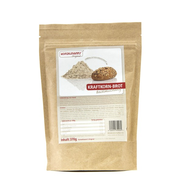 Konzelmann´s Low Carb Backmischung Kraftkorn-Brot
