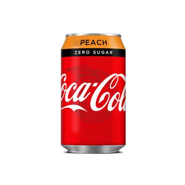 Coca-Cola Zero Sugar Peach