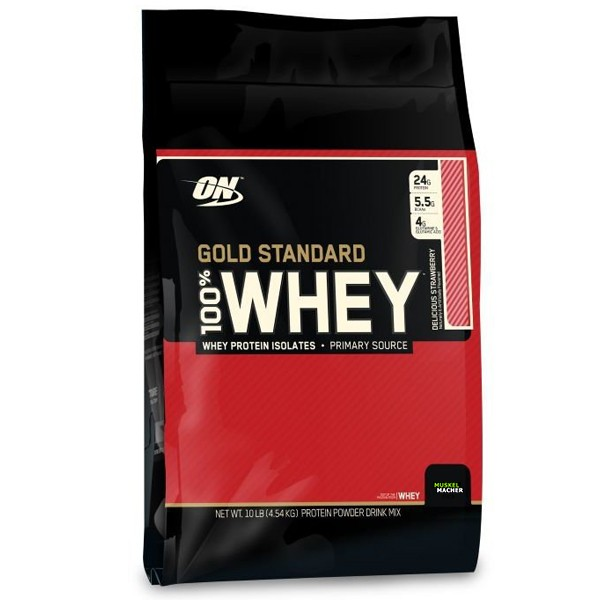 Optimum Nutrition Whey Gold Standard 4540g Strawberry