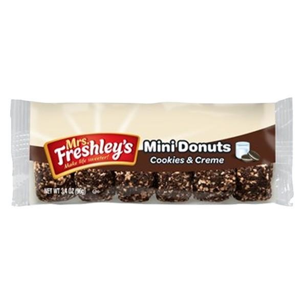 Mrs. Freshley's Mini Donuts Cookies & Cream