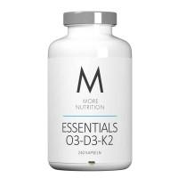 More Nutrition Essentials O3-D3-K2 (240 Kapseln)