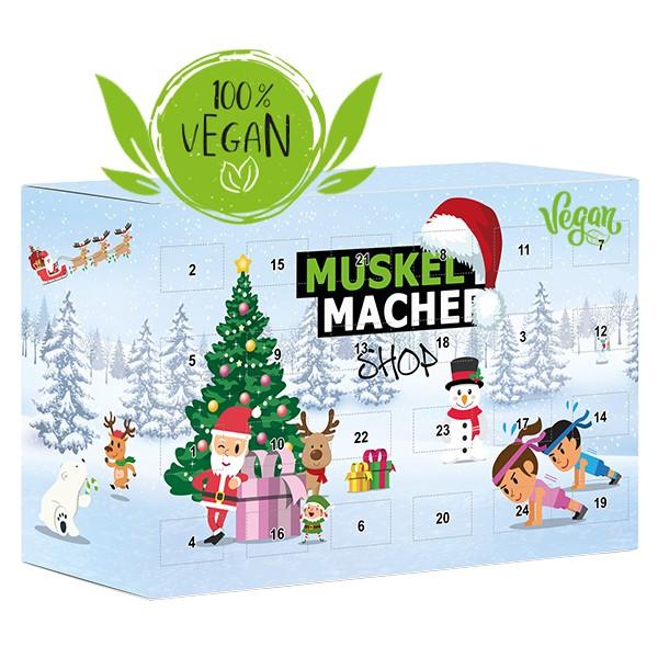Muskelmacher Shop Adventskalender vegan