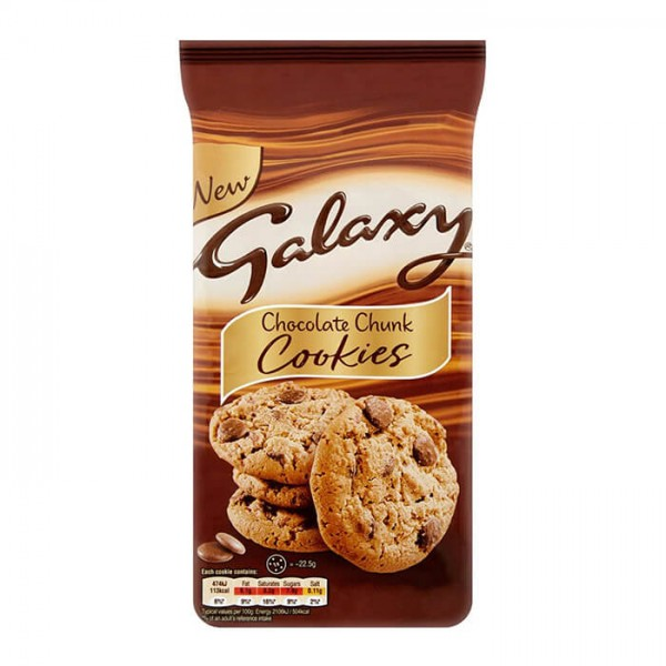 Galaxy Chocolate Chunk Cookies