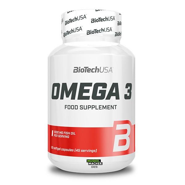 BioTech USA Omega 3 (90 Kapseln)