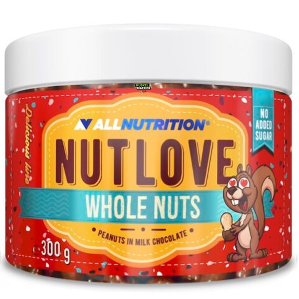 All Nutrition Nutlove Whole Nuts