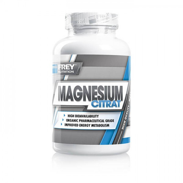 Frey Nutrition Magnesium Citrat (120 Kapseln)