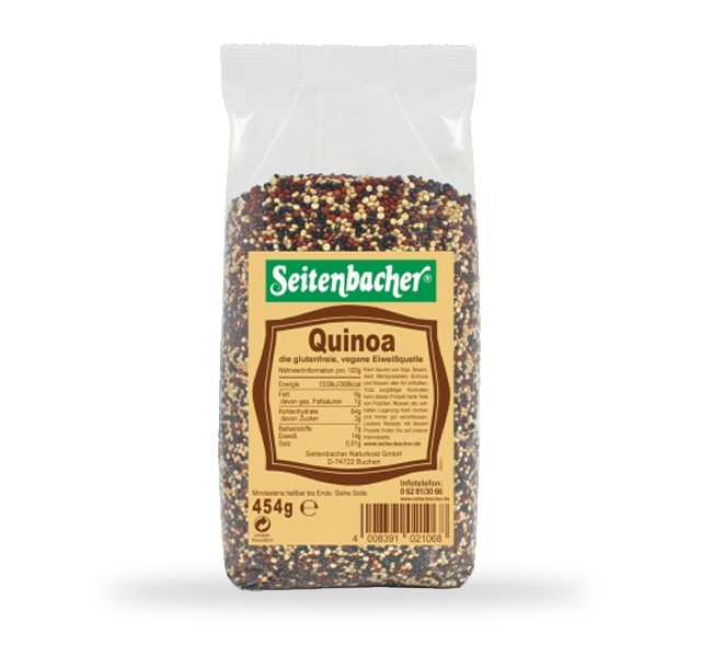 Seitenbacher Quinoa MHD 07/2018