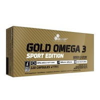 Olimp Gold Omega 3 Sport Edition (120 Kapseln)