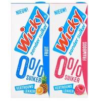 Wicky 0% Zucker Trinkpäckchen Fruit