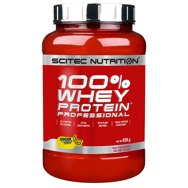 Scitec Nutrition 100% Whey Professional MHD