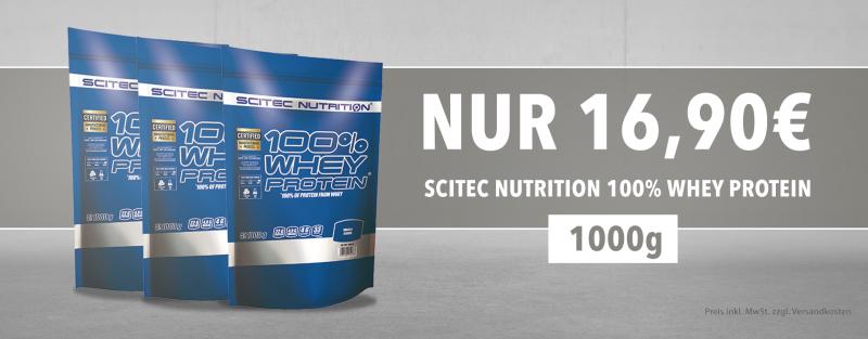 Scitec Nutrition 100% Whey Protein günstig kaufen