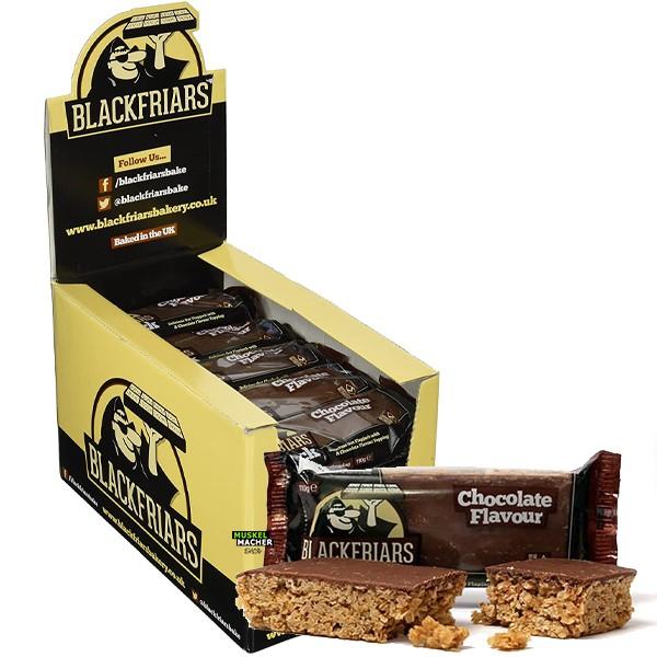 25x Blackfriars Flapjacks Chocolate