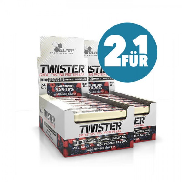 Olimp Twister Protein Riegel (2-für-1) Sparpaket