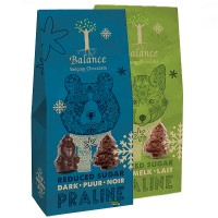 Balance Stevia Christmas Praline Dark Chocolate
