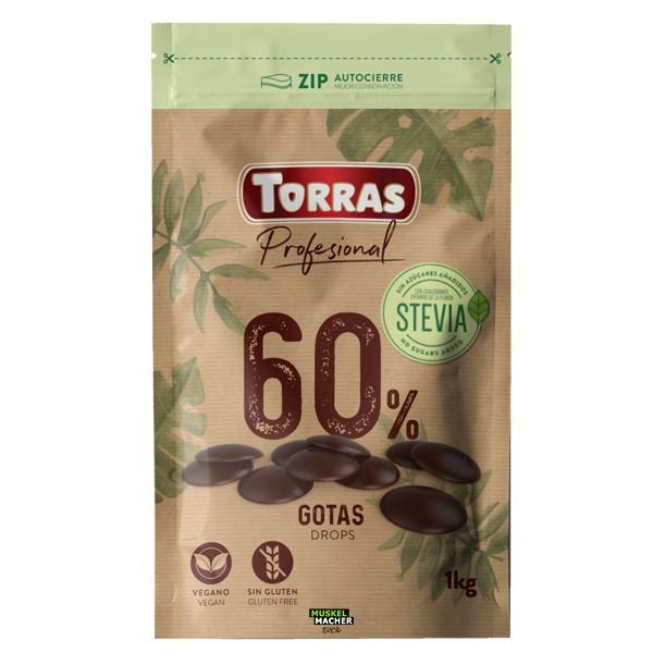 Torras Stevia Schokoladen Drops