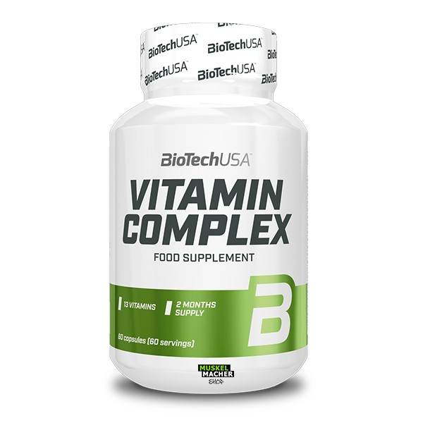 BioTech USA Vitamin Complex (60 Tabletten)