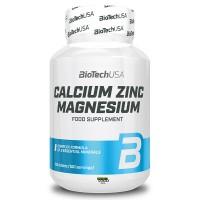 BioTech USA Calcium Zinc Magnesium (100 Tabletten)