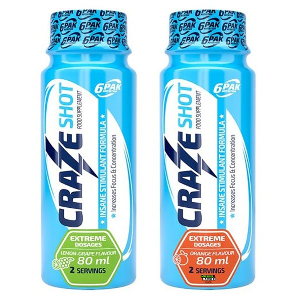 6Pak Nutrition Craze Shot