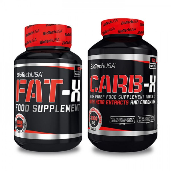BioTech USA Fat-X + Carb-X Sparpaket