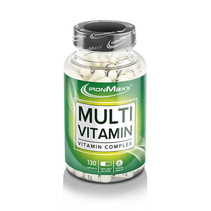 Ironmaxx Multivitamin (130 Kapseln)