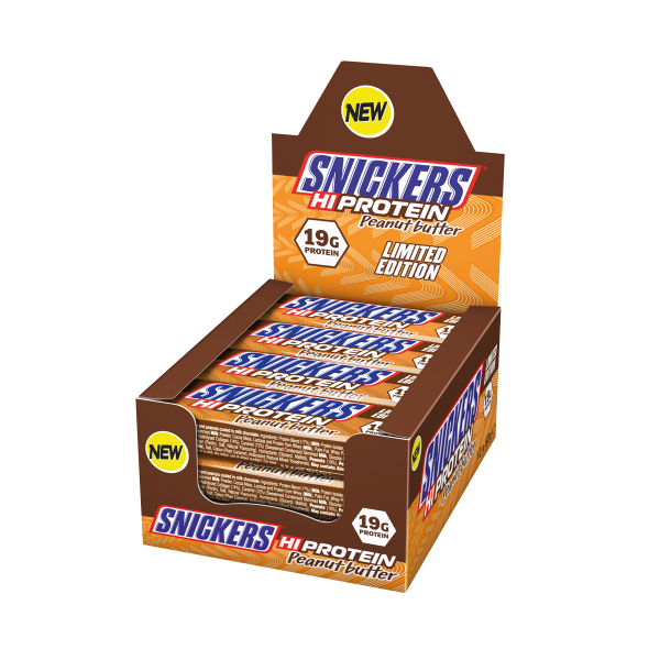 Snickers Hi-Protein Peanut Butter Bar Limited Edition