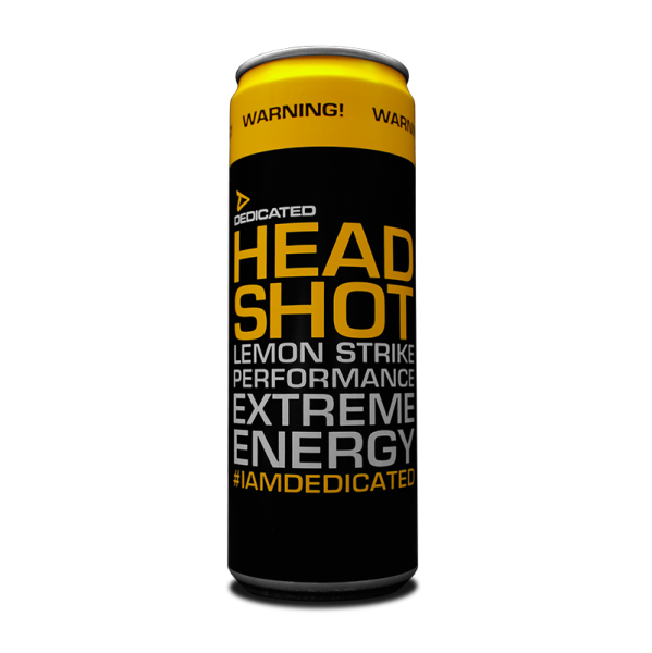 Dedicated Headshot Energy Drink