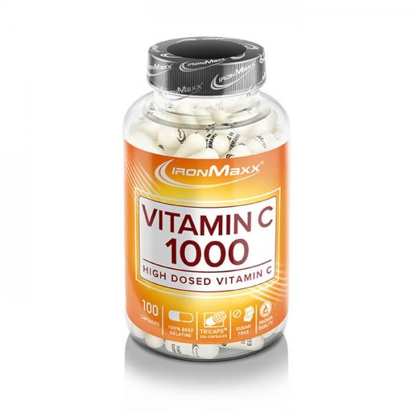 Ironmaxx Vitamin C 1000 (100 Kapseln)