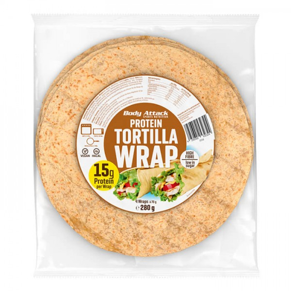 Body Attack Protein Tortilla Wraps