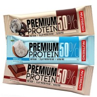 Nutrend Premium 50% Protein Bar Cookies & Cream