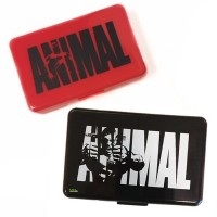 Animal Pillenbox Schwarz