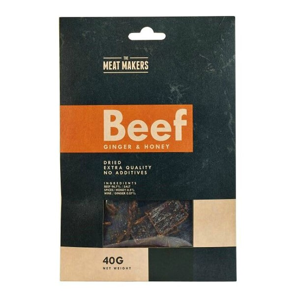 The Meat Makers Gourmet Beef Jerky