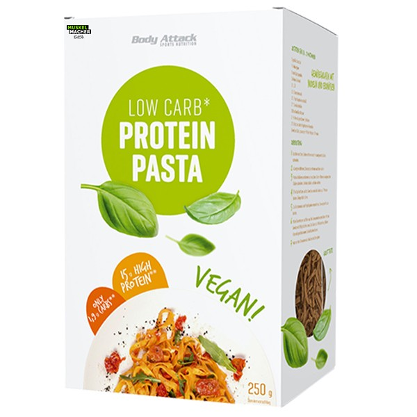 Body Attack Low Carb Protein Pasta Vegan