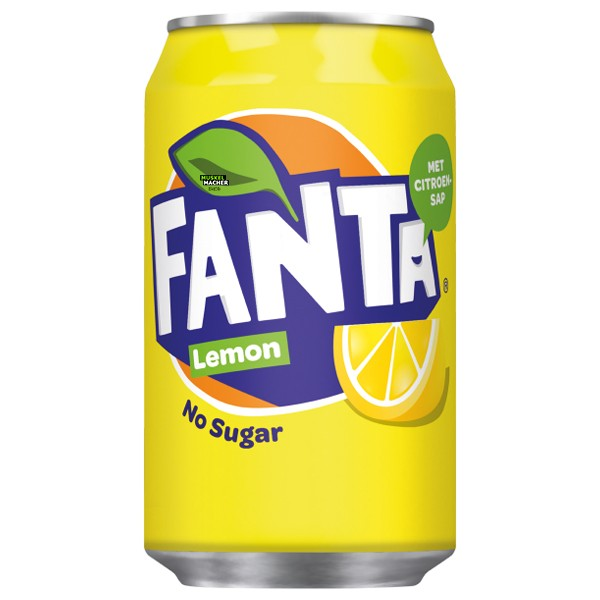 Fanta Lemon No Sugar