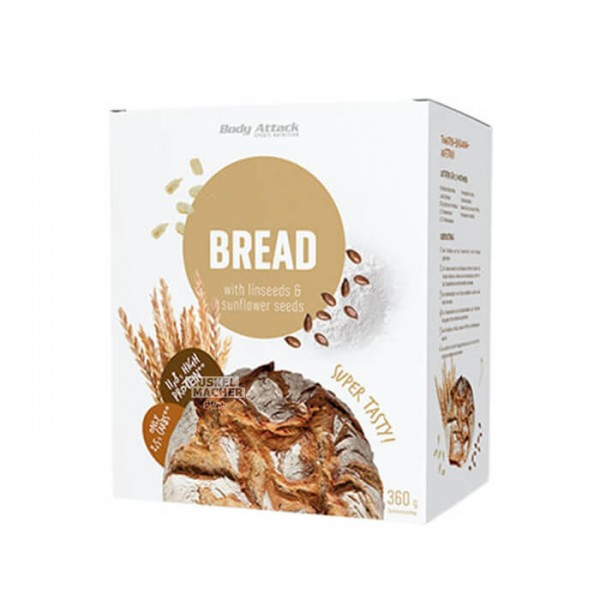 Body Attack Low Carb (kohlenhydratreduziert) Bread