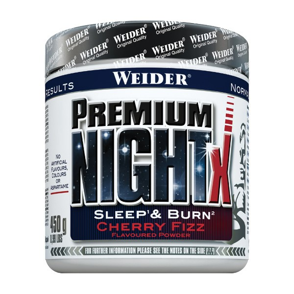 weider premium night x cherry fizz