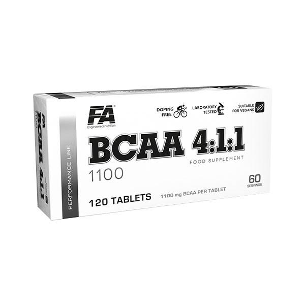 FA BCAA 4:1:1 1100 (120 Tabletten)
