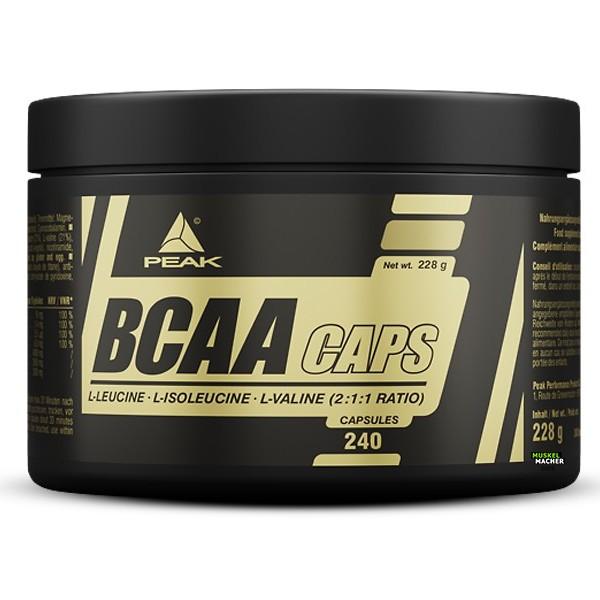 PEAK BCAA Caps (240 Stück)