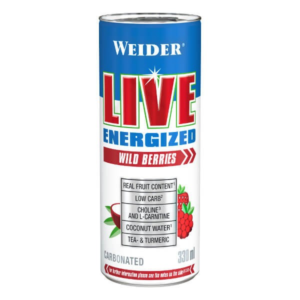 Weider Live Energized RTD