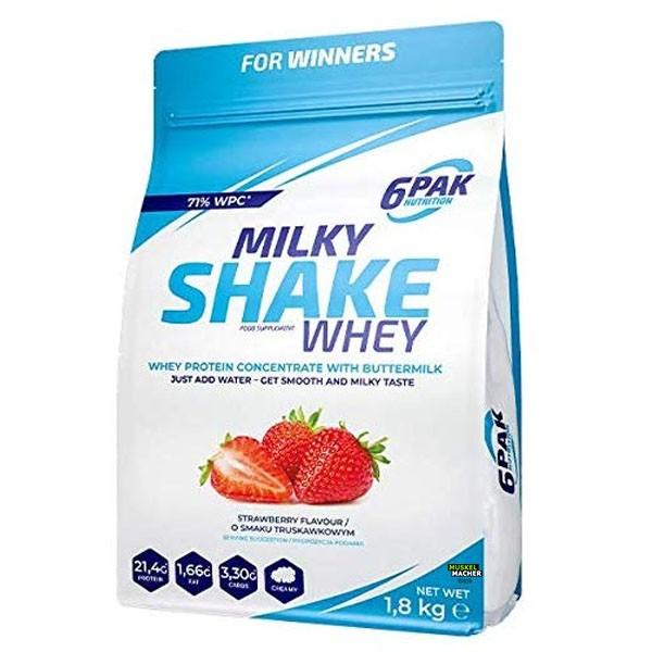 6pak Nutrition Milky Shake Whey (1800g)