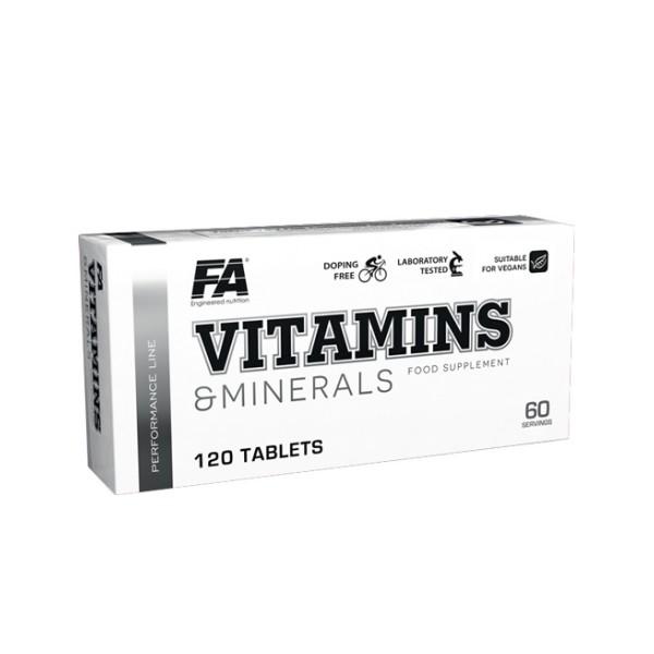 FA Vitamins & Minerals (120 Tabletten)