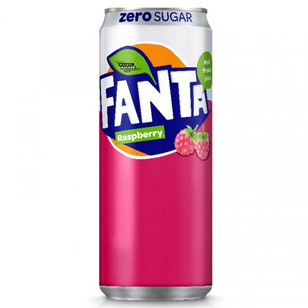 Fanta Raspberry Zero Sugar