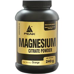 PEAK Magnesium Citrate Powder (Orange)