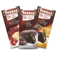 Torras zuckerfreie Schokolade Dark Chocolate 72%